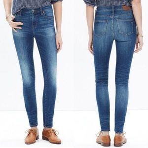 MADEWELL HIGH RISE JEANS SIZE 24 *WORN ONCE*